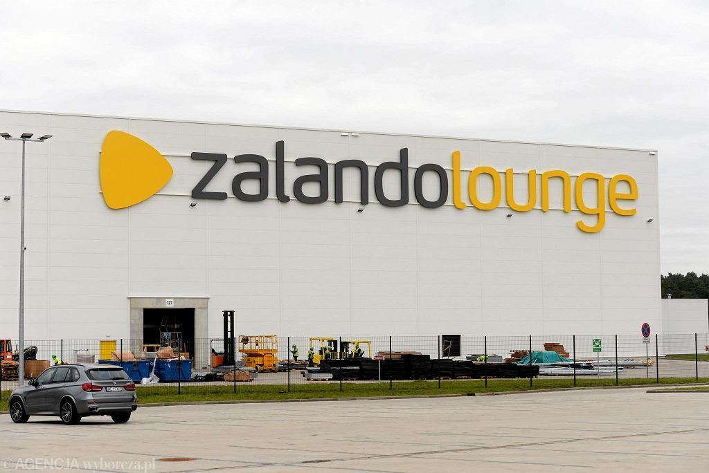 Otwarcie magazynu Zalando Lounge w Olsztynku