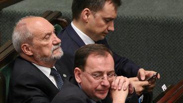 Mariusz Kamiński, Antoni Macierewicz i Zbigniew Ziobro
