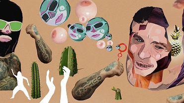 Piosenki Cypisa i Popka promują konkretny styl życia: ważne jest mieć hajs, nawciągać się koksu. Seks jest mechaniczny, a kobieta sprowadzona do roli obiektu seksualnego
