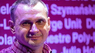 Spotkanie z Olegiem Sentsovem w Warszawie