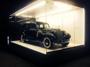 Cadillac Piłsudskiego | Pierwsze zdjęcia z gabloty