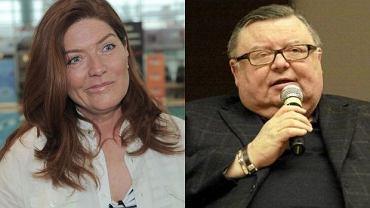 Katarzyna Dowbor i Wojciech Mann