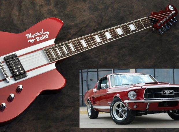 Gitara Mustang