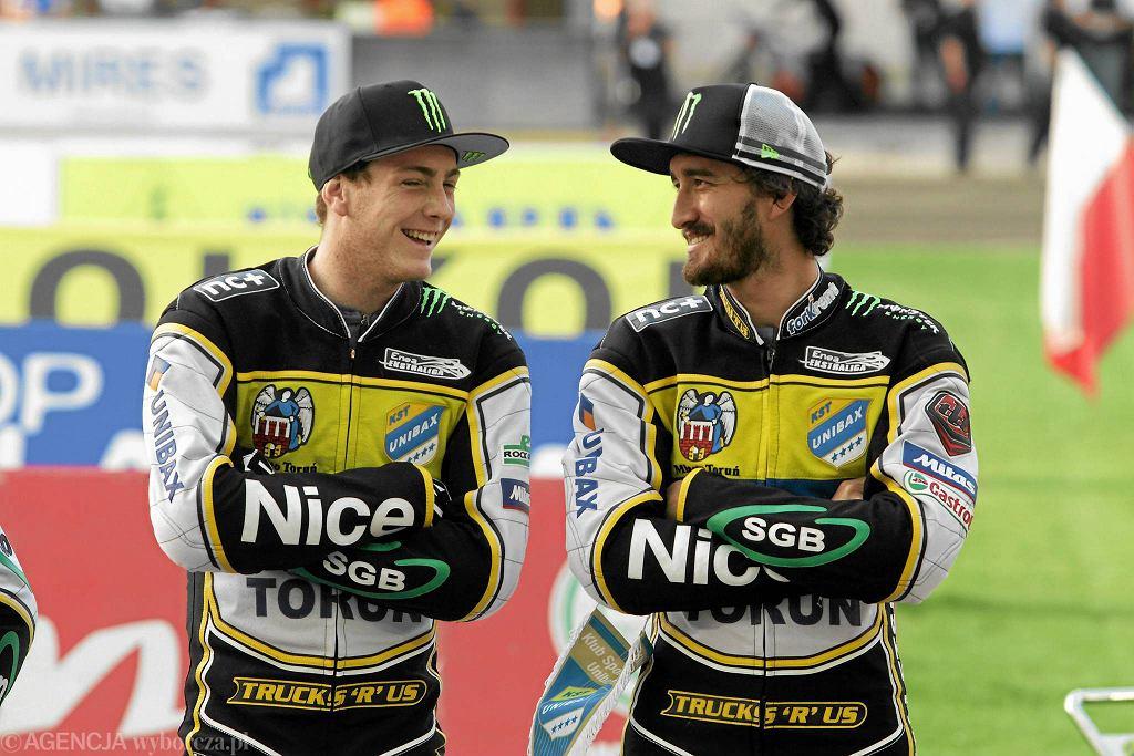Darcy Ward i Chris Holder