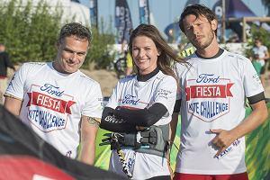Ja Wieczorkowski, Agnieszka Kawiorska, Mateusz Banasiuk na Ford Fiesta Kite Challenge 2017