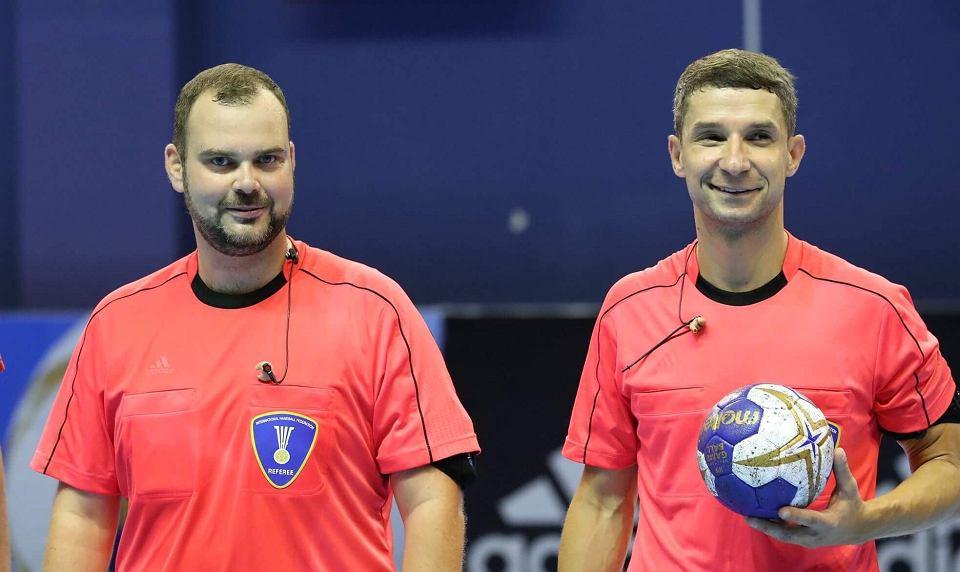 Półfinał mistrzostw świata piłkarzy ręcznych poprowadzą sędziowie z Płocka.  'To wyróżnienie, zaszczyt'