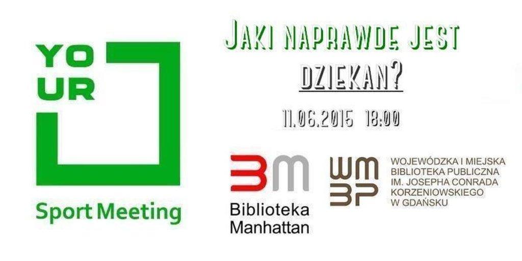 Your Sport Meeting - spotkanie z Dariuszem Dziekanowskim
