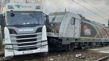 Wypadek na przejeździe w Czechowicach-Dziedzicach
