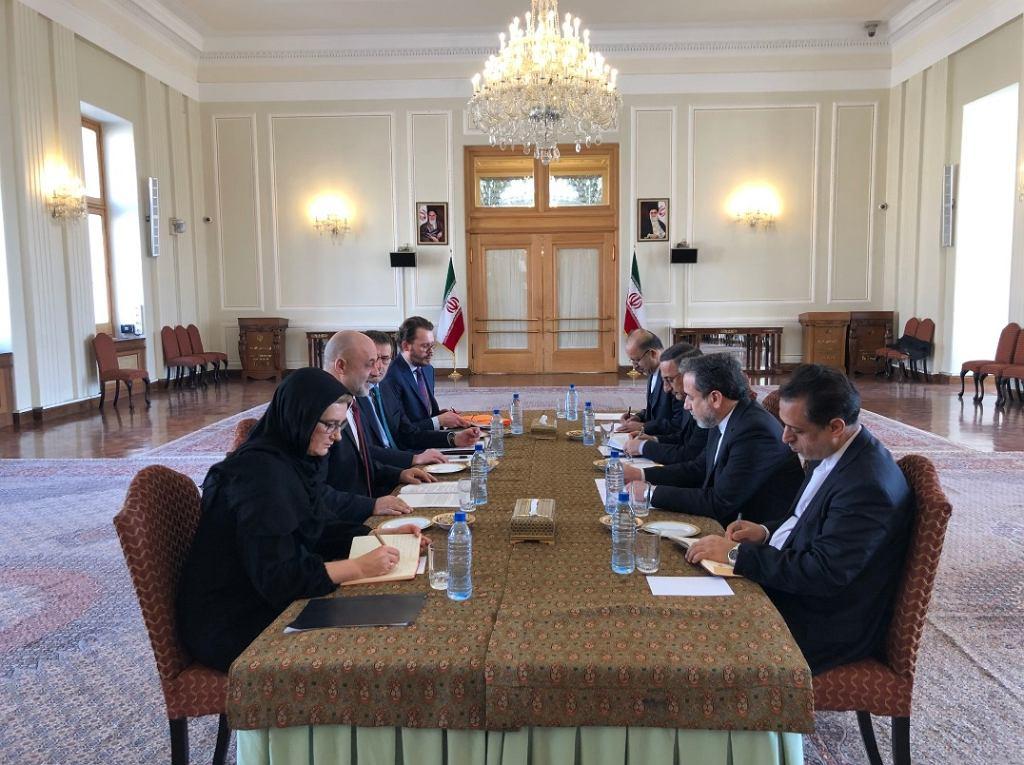 Spotkanie wiceministra spraw zagranicznych Macieja Langa z ministerstwem spraw zagranicznych w Iranie