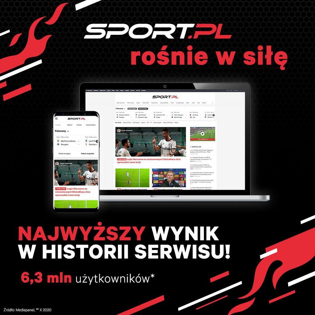 Sport.pl rośnie w siłę!
