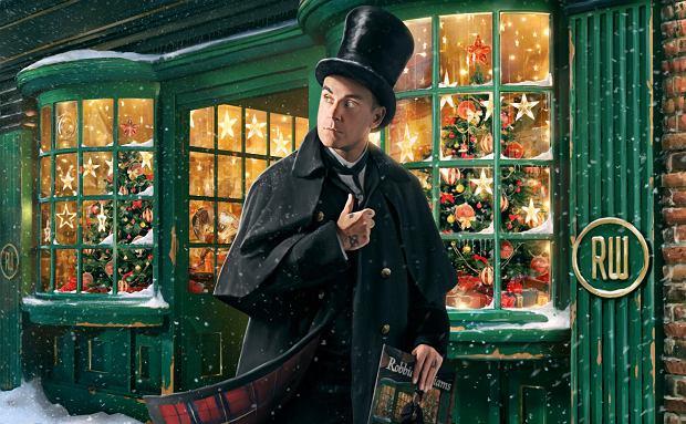 Okładka płyty 'Christmas Present' Robbiego Willliamsa
