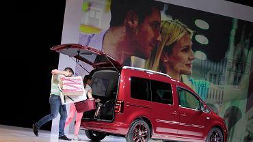 Nowy Volkswagen Caddy - prezentacja auta w lutym 2015 r.