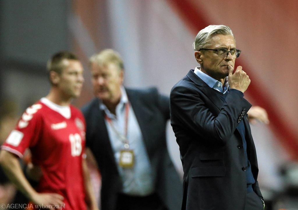 Dania - Polska 4:0. Adam Nawałka
