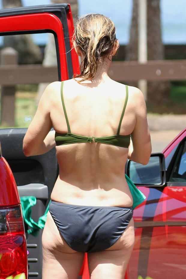 Helen Hunt, gwiazdy w bikini