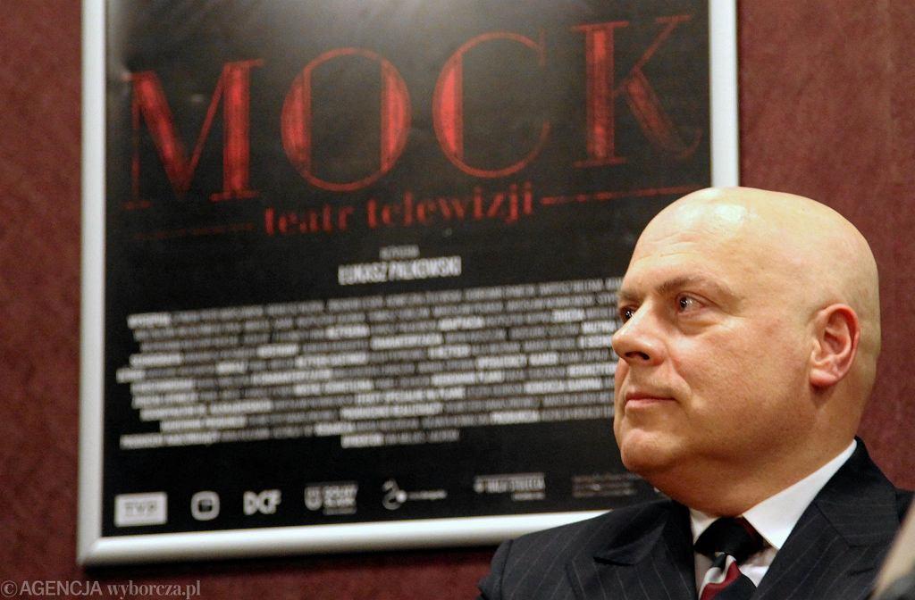 Stworzony przez Marka Krajewskiego komisarz Mock jest gwiazdą spektakli w teatrze telewizji i muzycznym