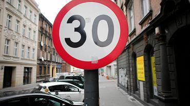 Ograniczenie do 30 km/h