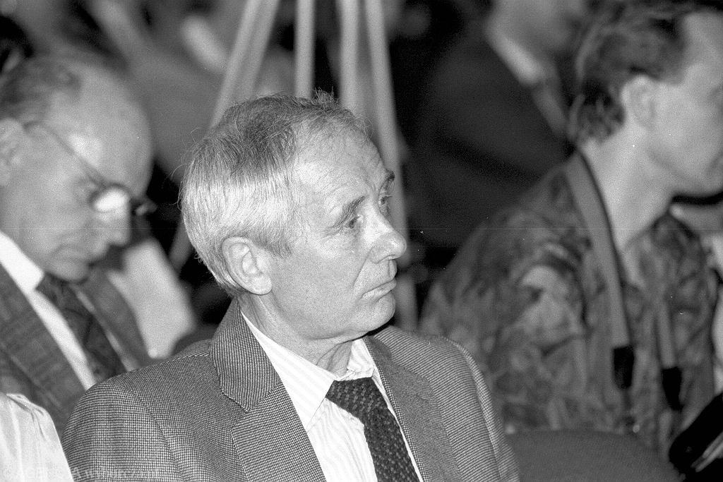 Alfred Miodowicz, pierwszy Przewodniczący Ogólnopolskiego Porozumienia Związków Zawodowych