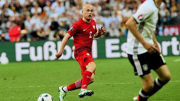 Michał Pazdan w meczu Niemcy - Polska