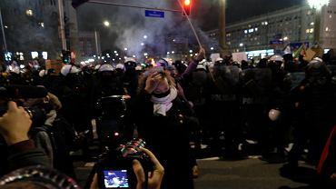 Strajk Kobiet. Małgorzata Trzaskowska: Widziałam w oczach policjantów wstyd