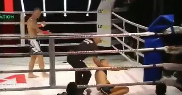 Przerażające sceny na gali MMA w Polsce! Lekarze walczą o życie zawodnika