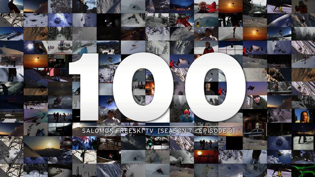 Plakat promujący odcinek 100 SFSTV