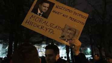 18.12.2019, manifestacja pod Sejmem