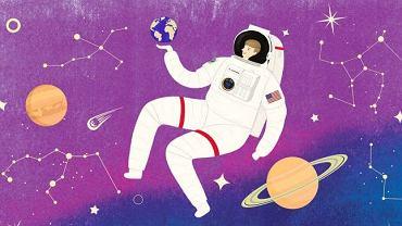 Okładka książki 'Kosmiczne dziewczyny'