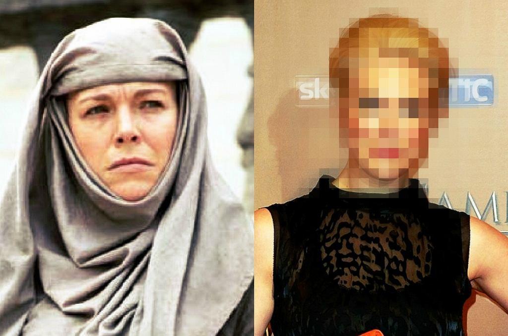 Hannah Waddingham jako Siostra Shame