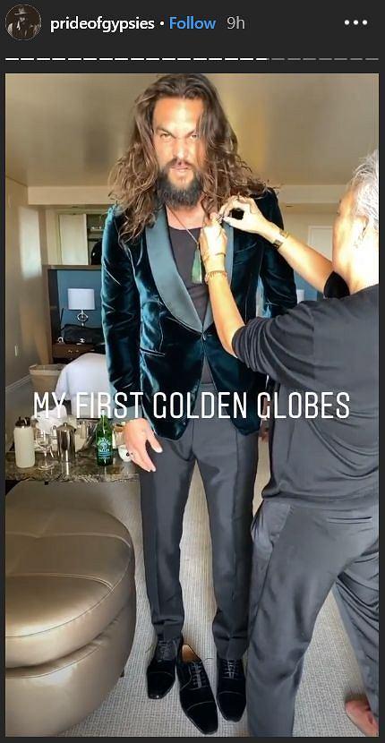 Złote Globy 2020: Jason Momoa