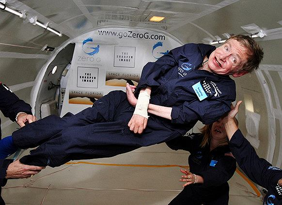 Stephen Hawking. Fot. Wikimedia Commons