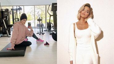 Khole Kardashian - trening