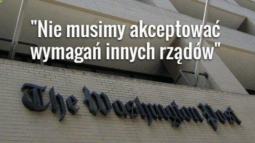 """Redakcja """"Washington Post"""""""