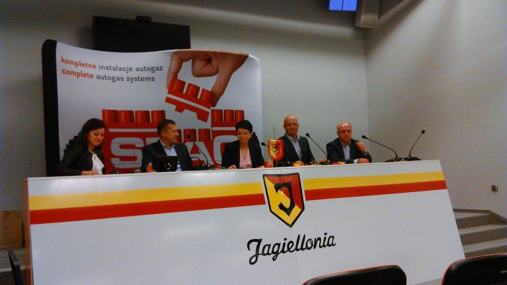Nowy sponsor Jagiellonii