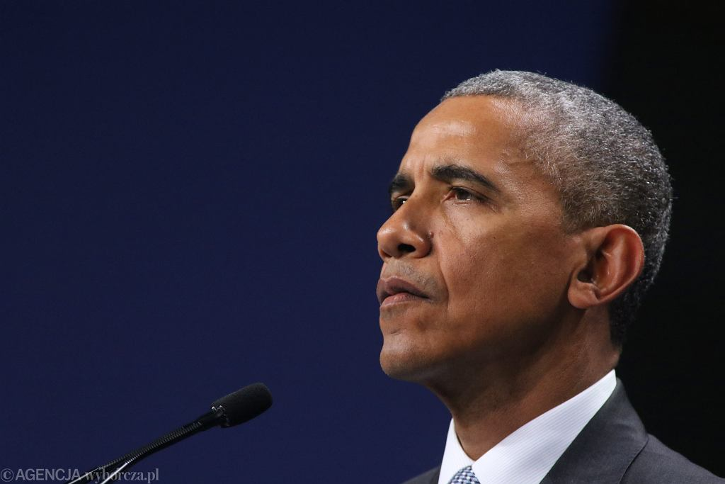 Barack Obama komentuje zamieszki na Kapitolu.
