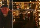 Pan Henryk z Krapkowic zawstydza miłośników świątecznych iluminacji. Odwiedzają go turyści z całego świata