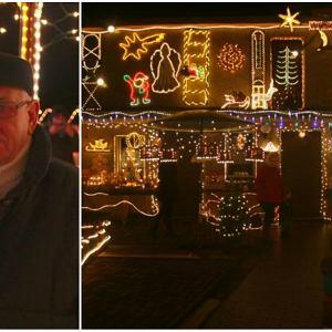 - Pan Henryk postanowił zawstydzić Coca-Colę - śmieją się mieszkańcy Opolszczyzny. Aluzja do znanej marki, słynącej  m.in ze swoich spotów reklamowych w których lubi eksponować świąteczne iluminacje, nie jest zupełnie bezpodstawna. Pan Henryk Jaschik z Krapkowic przykłada wiele starań, by świąteczne dekoracje na jego domu również robiły duże wrażenie