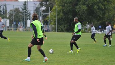 Herold Goulon na treningu