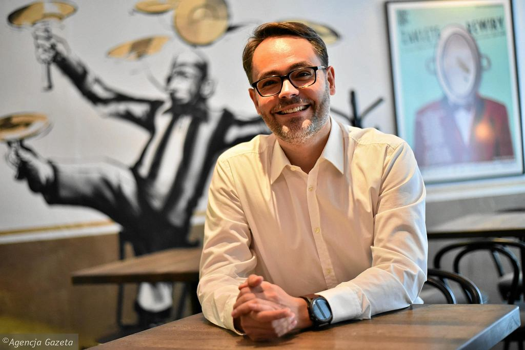 Marcin Koch, właściciel restauracji Bazar Kocha i Talerzyki  / FRANCISZEK MAZUR