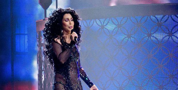 Cher na koncercie w Ottawie w 2014 r.