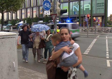 Strzelanina w Monachium (AP / AP)