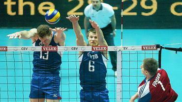 Widzowie w hali Gdynia, po piątkowej porażce faworytów z Rosji w pierwszym meczu mistrzostw Europy siatkarzy (0:3 z Niemcami), w sobotę podziwiali zupełnie inną drużynę. Sborna bez problemu pokonała Czechów 3:0 (25:22, 25:17, 25:10). Zobacz zdjęcia z tego spotkania.