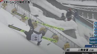 Groźny upadek japońskiego skoczka podczas zawodów w Sapporo