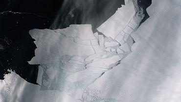 Góra lodowa oderwała się od lodowca Pine Island