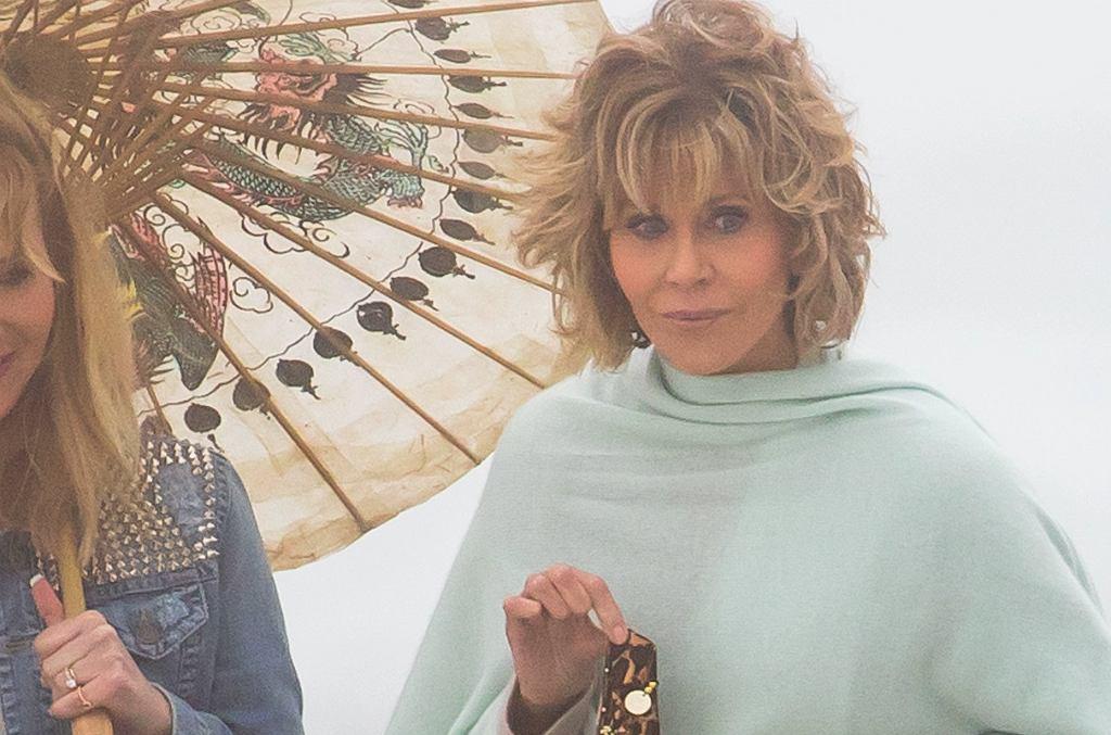 Lisa Kudrow, Jane Fonda