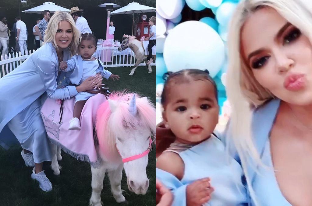 1. urodziny córki Khloe Kardashian