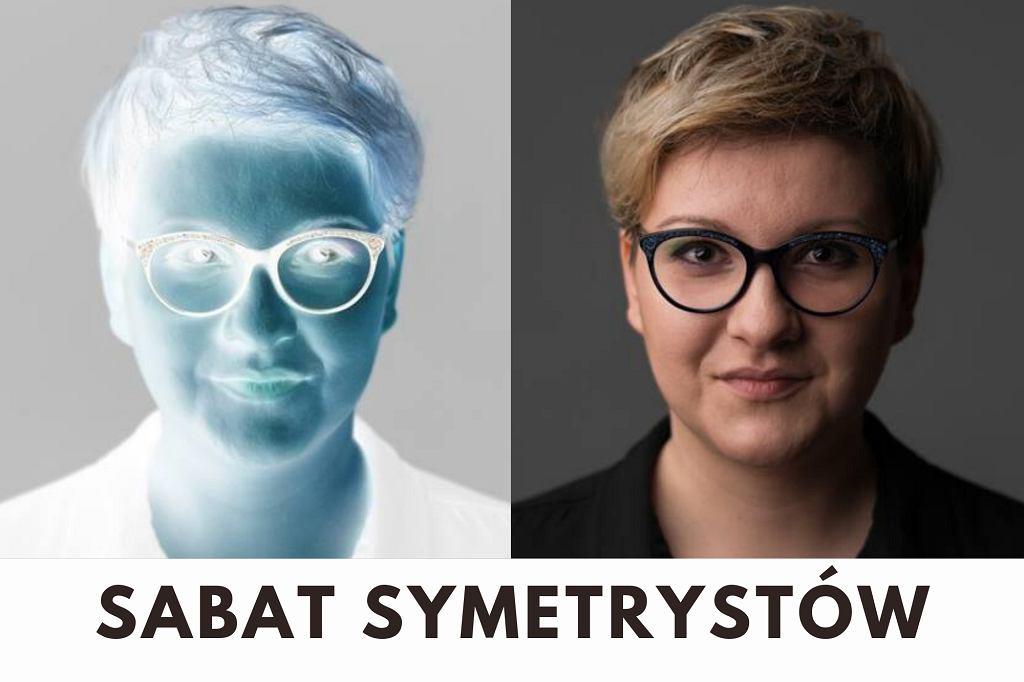 Anna Piekutowska, współprowadząca podcast TOK FM 'Sabat symetrystów'