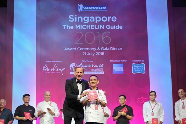 Uwaga! Tylko dla Magazyn Kuchnia. Zdjęcie dzięki uprzejmości  guide.michelin.sg