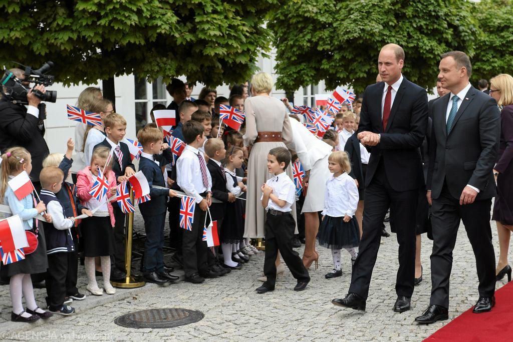 Andrzej Duda bohaterem walentynkowego dowcipu brytyjskiej ambasady