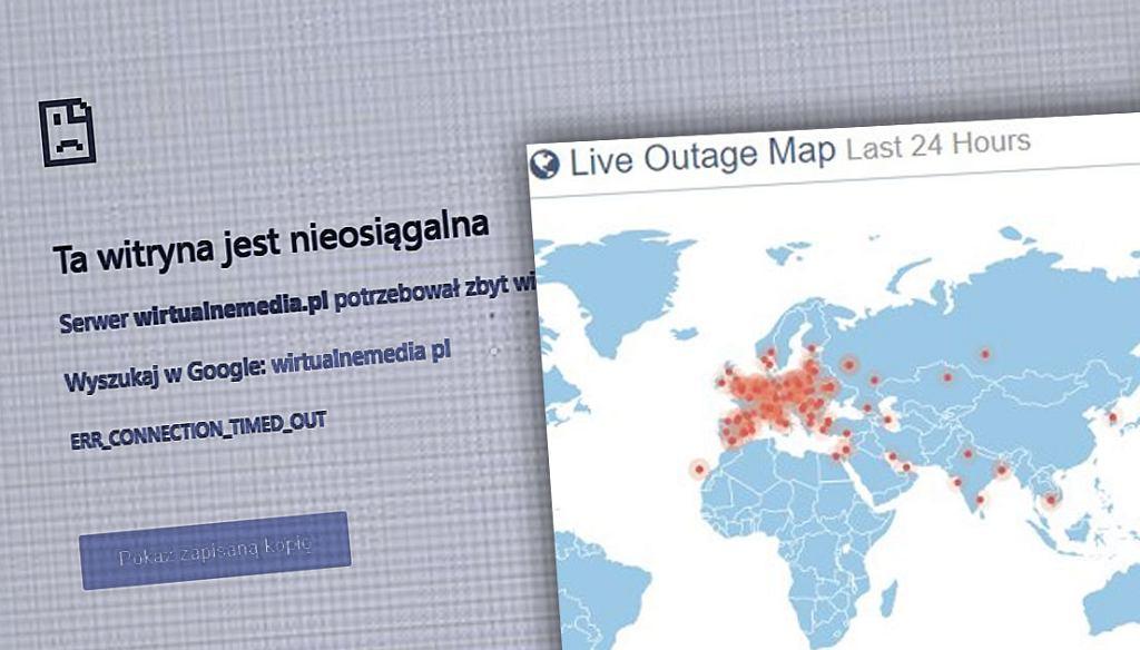 Globalna awaria OVH - wiele stron odciętych od sieci