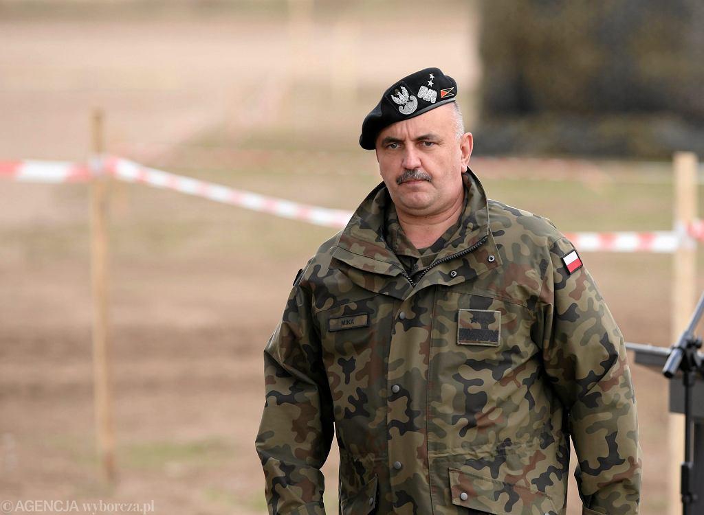 Generał Jarosław Mika